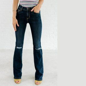 NEW Carmar Leonardo flare distressed Jeans